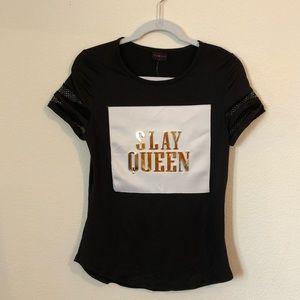 Tops - Slay Queen T-shirt
